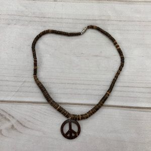 Wooden Hippy Necklace